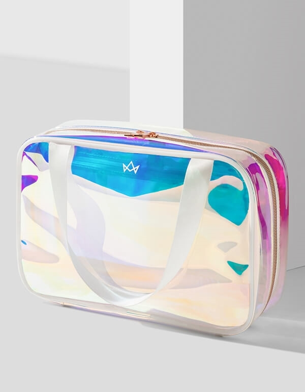 TAKE-ME Holographic Beauty Bag
