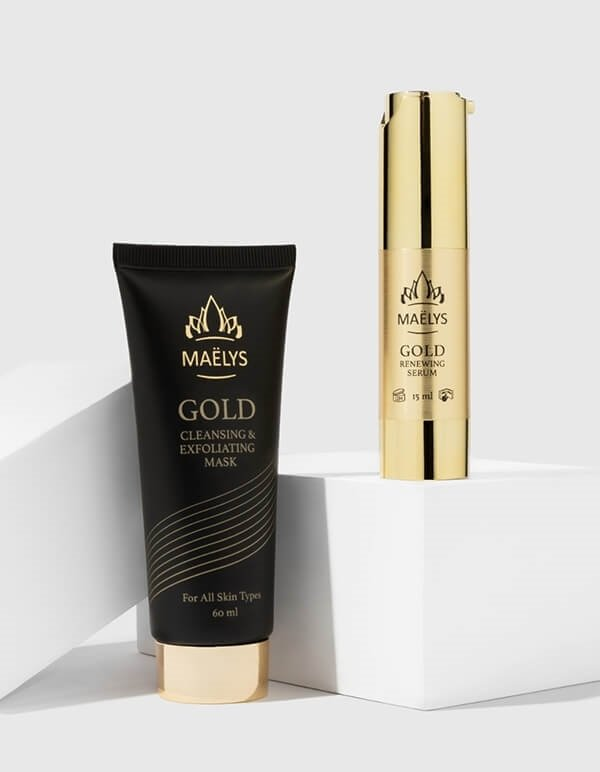 GLAMOUR 24K Gold Mask & Serum