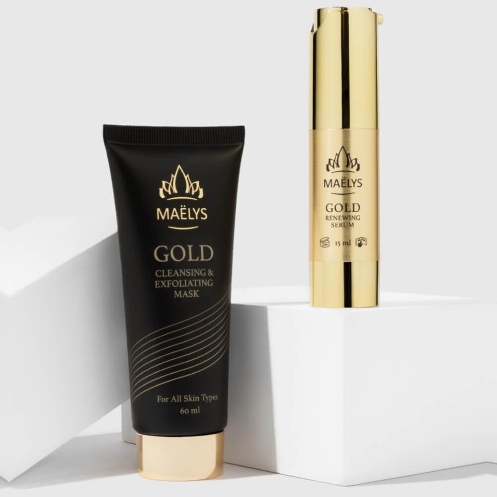 GLAMOUR 24K Gold Mask & Serum